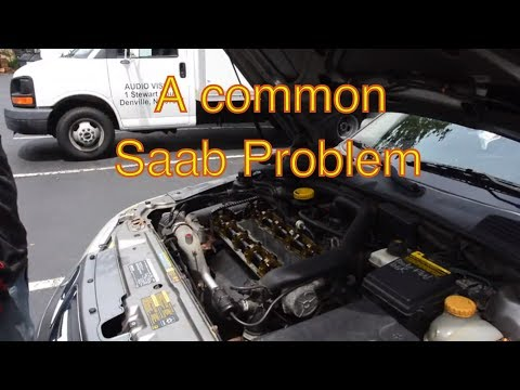 Saab 900 9-3 9-5 Valve Cover Gasket Replacement