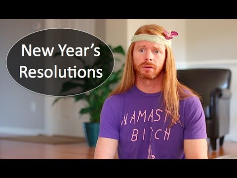 New Year's Resolutions (If People Were Honest) - Ultra Spiritual Life episode 47