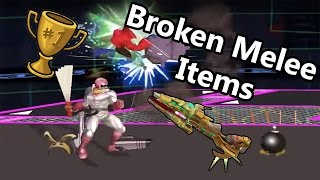 Melee items are balanced.