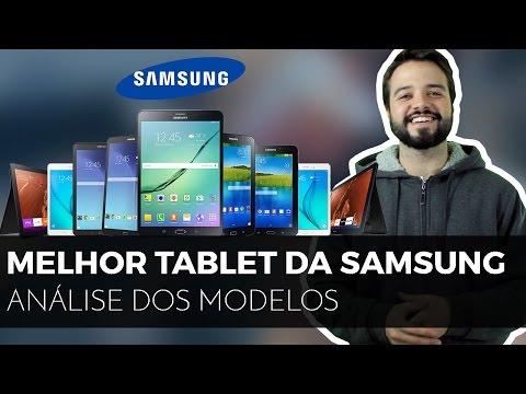🔴Qual o melhor TABLET SAMSUNG   Análise de toda a linha de equipamentos