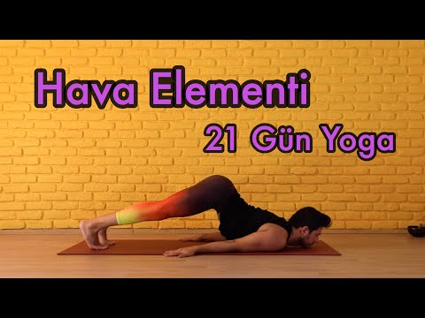 21 Gün Yoga Hava Elementi | Ruhunuzu Dengelemek İçin