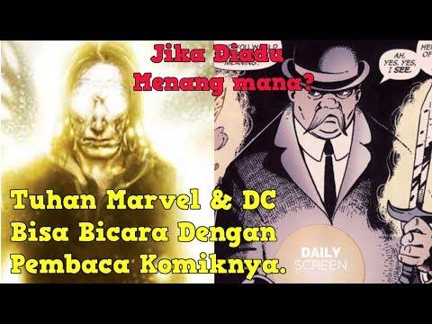 Mengenal Sosok Presense dan The One Above All ( Tuhan DC & Tuhan Marvel)
