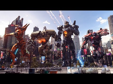 Pacific Rim Uprising Music Video | Born For Greatness - Papa Roach