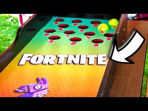 I Found a Fortnite Carnival Game!