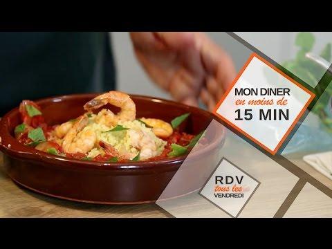 Episode 2 : Crevettes au chorizo graines de couscous