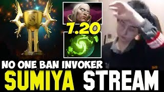 When no one Ban Invoker in Battle Cup (Patch 7.20) | Sumiya Invoker Stream Moment #425