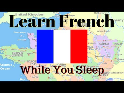 Learn French While You Sleep // 115 Common Phrases and Words \\ Subtitles