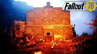 BUILDING AN EPIC EVIL LAIR BASE IN FALLOUT 76: Base Building Locations - Fallout 76 Gameplay