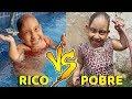 Rico VS Pobre (se virando no calor) - MC Divertida