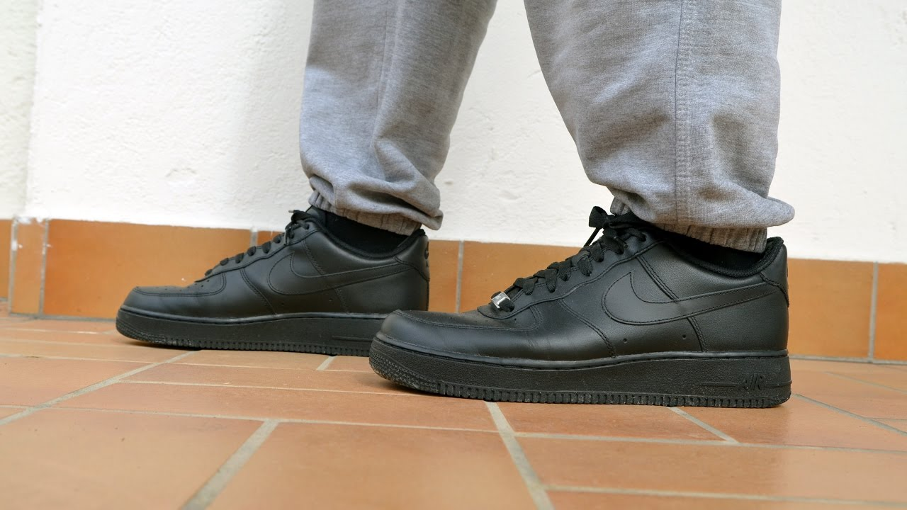 finest selection 4e905 5a1b8 Nike Air Force 1 Low on Feet Review