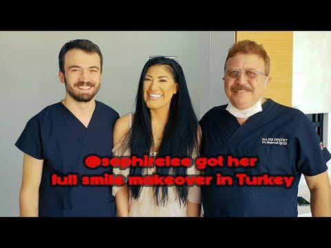 SOPHIE LEE GOT HER FULL SMILE MAKEOVER IN TURKEY | ATTELIA DENTAL TURKEY