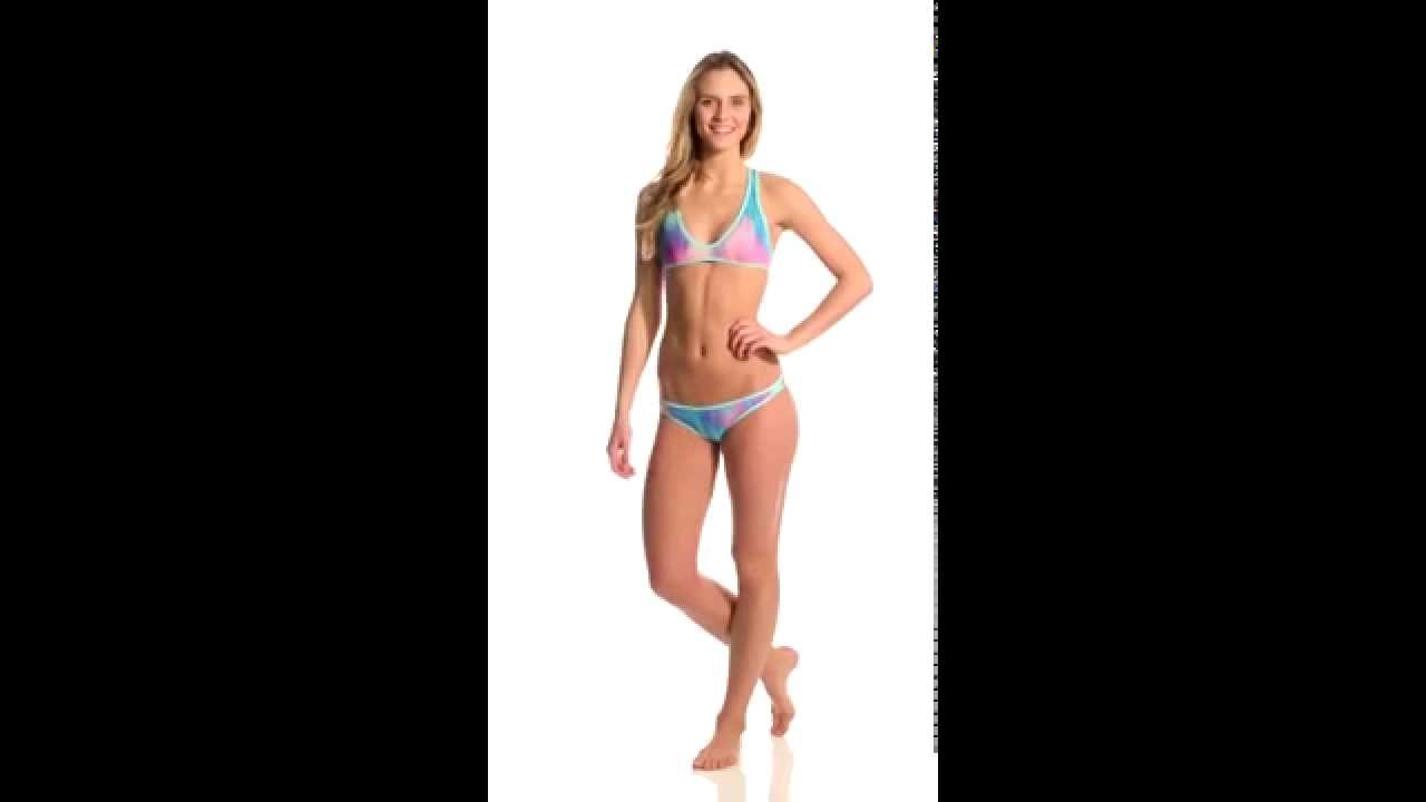 e52d66592e3 B.Swim Prism Nova Cheeky Bikini Bottom | SwimOutlet.com - YouTube