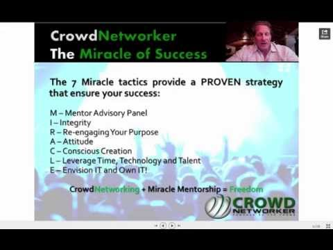 CrowdNetworker Team Building System - Earn While You Learn
