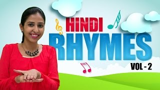 Hindi Rhymes For Kids | Hindi Action Songs For Children | Hindi Rhymes With Actions