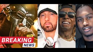 Breaking News MF DOOM Passes at 49, Eminem Names Rappers Who aim to Be the Best, Lil Tjay Arrested