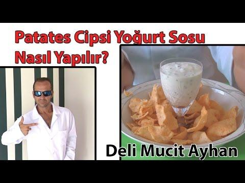 Patates Cipsi Yoğurt Sosu Nasıl Yapılır? | Deli Mucit Ayhan