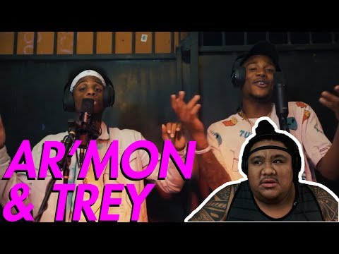 Ar'mon & Trey - Wild Thoughts, I'm The One, Despacito Mash Up [MUSIC REACTION]