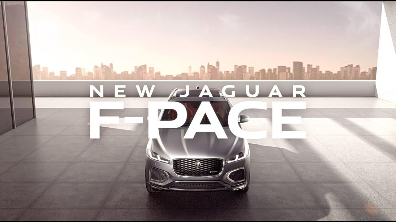 New Jaguar F-PACE | Luxurious, Connected and Electrified