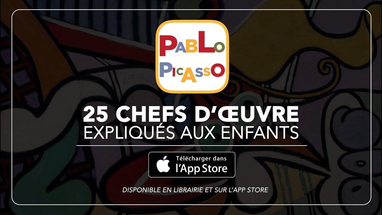 Assez Pablo Picasso, 25 chefs d'œuvre expliqués aux enfants : l  NP93