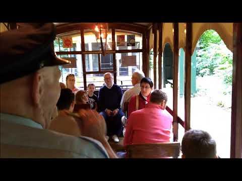 Brussels tram museum - vintage tram ride