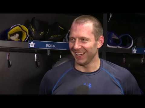 Maple Leafs Morning Skate: Eric Fehr - March 2, 2017