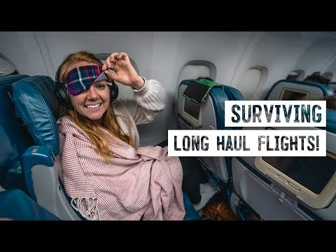 How We Survive LONG HAUL FLIGHTS! - 11 Hour Flight From Seattle To France 😱