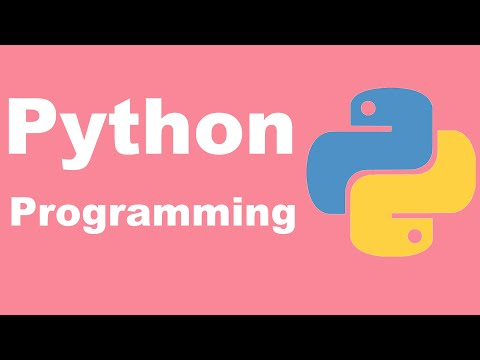 Python Programming Tutorial from two lazy programmers thumbnail