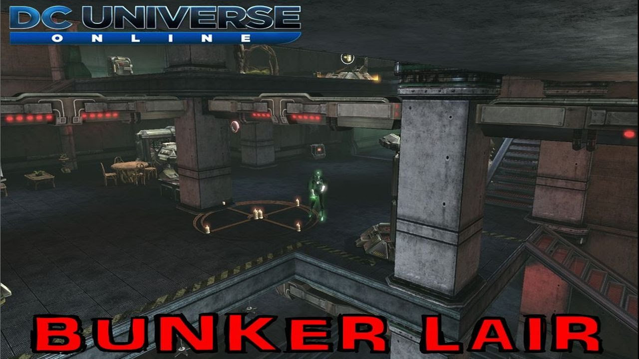 DC Universe Online  Bunker Lair Style  YouTube