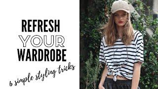 Six styling secrets for a quick new season wardrobe refresh | fashion trends 2019