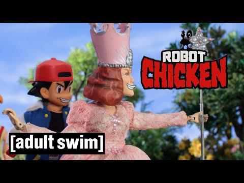 Robot Chicken   Ash Chooses Glinda   Adult Swim UK 🇬🇧