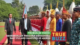 Download Video Kegembiraan Presiden Mikronesia saat Pulang Kampung ke Ambon MP3 3GP MP4
