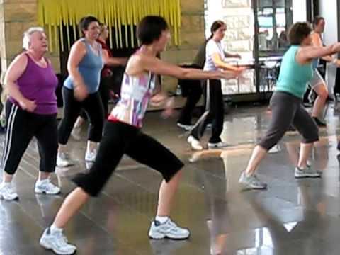 "Paula Miller Jazzercise ""Get Moving"" 09"