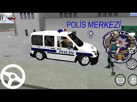 TÜRK Polis Arabası Oyunu - FORD Connect // Polis Simulator #2 Android Gameplay FHD