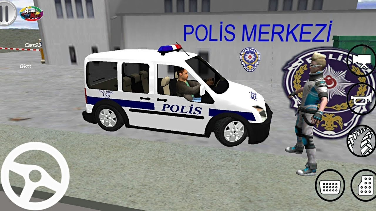 Turk Polis Arabasi Oyunu Ford Connect Polis Simulator 2