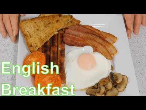 Full English Breakfast- The Traditional British Breakfast or Fry up