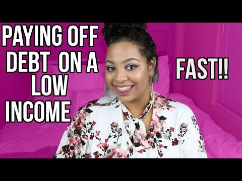 PAYING OFF DEBT FAST ON A LOW INCOME!