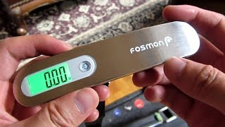 Digital Luggage Scale | Stainless Steel | Fosmon | Luxebell | MyCarbon