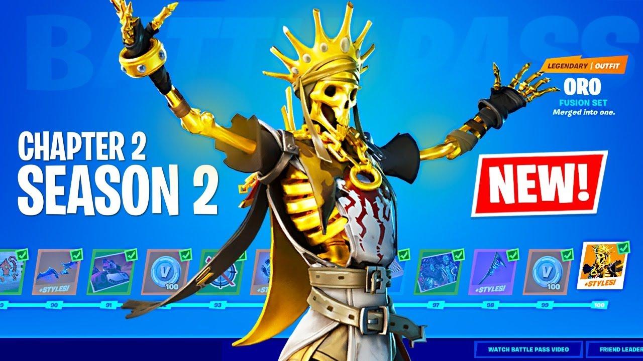 'Fortnite' Chapter 2, Season 2 Battle Pass Is Live: Here's What's In It ...