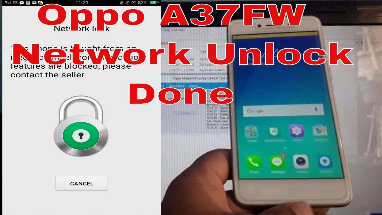 Oppo A37Fw Network Unlock Done Without Box