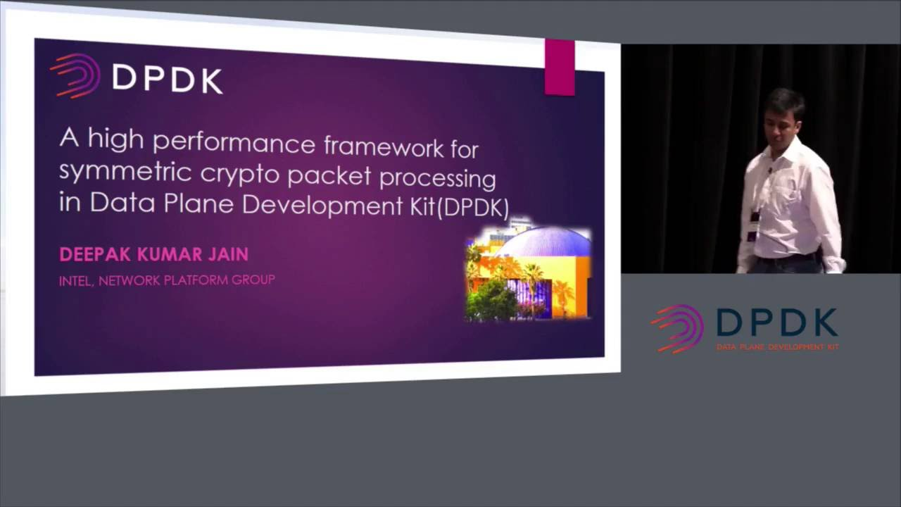 High Performance Framework for Symmetric Crypto Packet Processing in DPDK