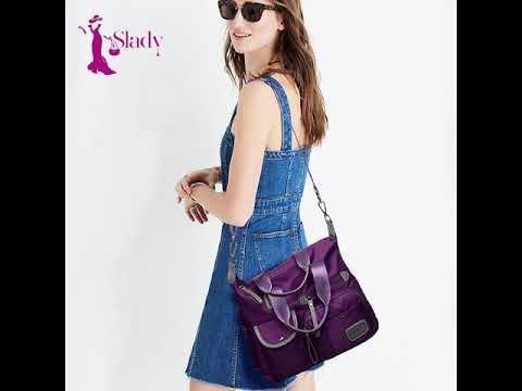 Túi đeo chéo nữ, vải dù siêu nhẹ, chống nước, thời trang Oxford TT029 | Tổng quát các nội dung liên quan túi đeo thời trang nữ chính xác