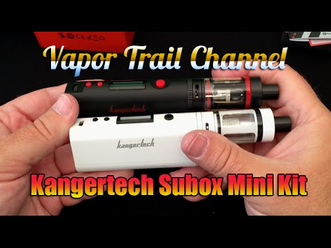 Kanger SUBOX Mini Kit Detailed Review w/ Updated Subtank Mini