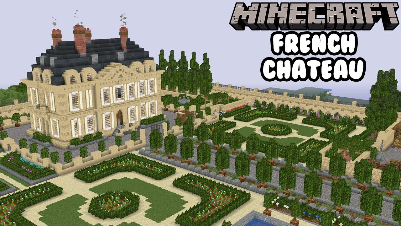 Minecraft French Chateau Episode 1 Youtube