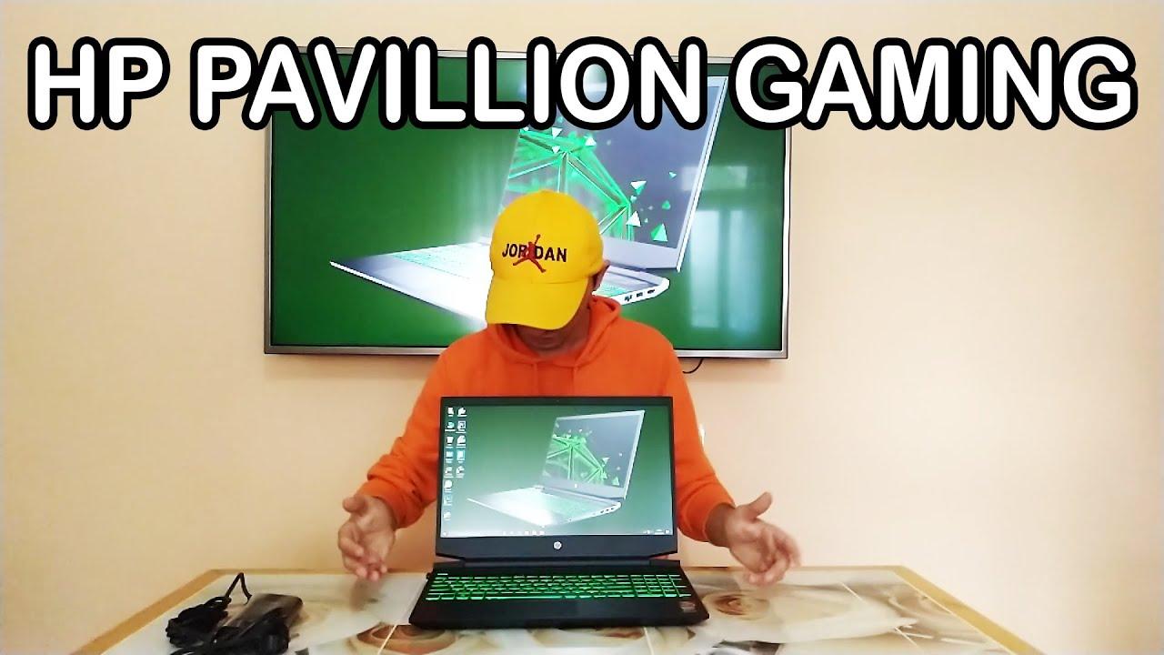 Yeni Bilgisayarım HP Pavillion Gaming 15-EC1004NT Kutu Açılışı İnceleme