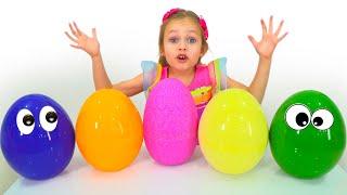 Охота за пасхальными яйцами - Детская песня. Песни для детей от Майи и Маши
