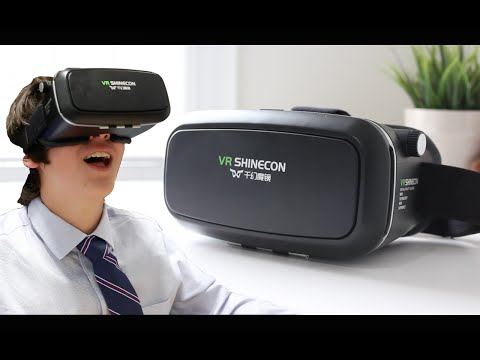 BEST $30 Virtual Reality!!! | Elegiant VR Headset Review + Reactions