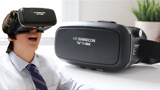 BEST $30 Virtual Reality!!!   Elegiant VR Headset Review + Reactions