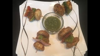 Mushroom tikka~Quick & easy party snack~must try dish -delhi dairies