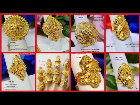latest-solid-gold-rings-designs-with-weight-and-price//-gold-engagement-rings//wedding-rings