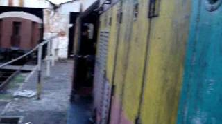 Ferrocarriles Argentinos Arranque locomotoras diesel